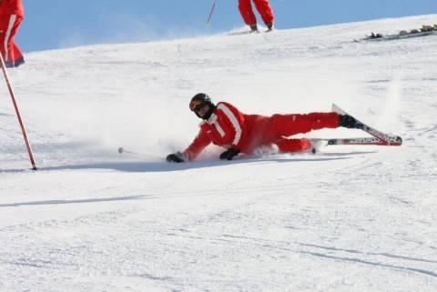 Η στιγμή της αναχώρησης του Σουμάχερ από το χιονοδρομικό κέντρο (vid)