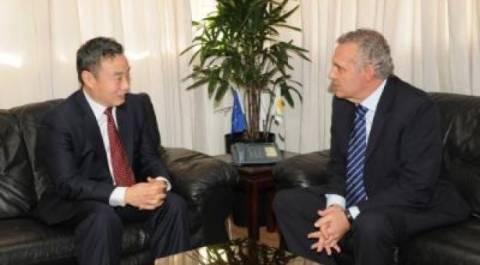 Στην Κύπρο η κινεζική φρεγάτα Yancheng