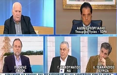 Γεωργιάδης: Αν το ΠΑΣΟΚ προτείνει ισοδύναμο για τα 25 ευρώ το συζητάμε