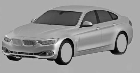 BMW 4 GRAN COUPE: Τα πρώτα σκίτσα