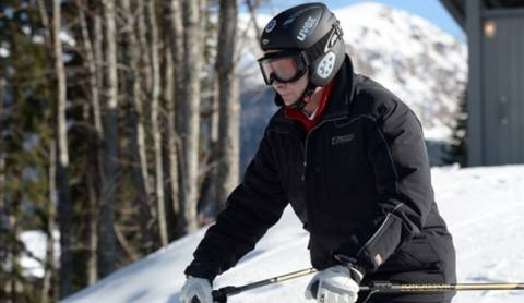 Ο Πούτιν για σκι στο Σότσι-Επιθεώρηση των εγκαταστάσεων