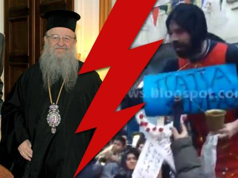 «Ιερά» πυρά κατά Διαμαντόπουλου για τον «Παπα-Σούρα» (vid)