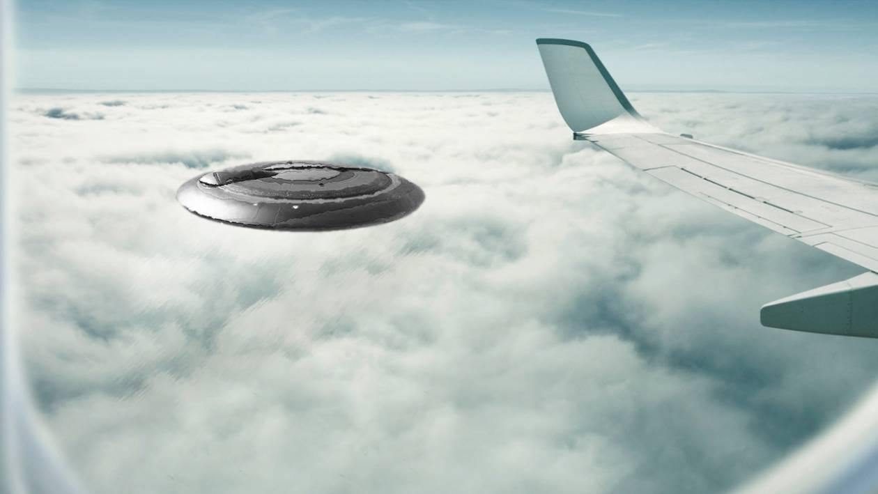 Παρ΄ολίγον σύγκρουση αεροσκάφους με UFO πάνω από το Χίθροου
