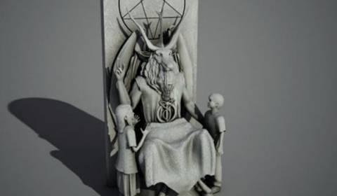 ΣΟΚ! Στις ΗΠΑ υποβλήθηκε σχέδιο αγάλματος του Σατανά