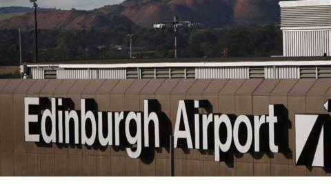 Λήξη συναγερμού στο αεροδρόμιο του Εδιμβούργου