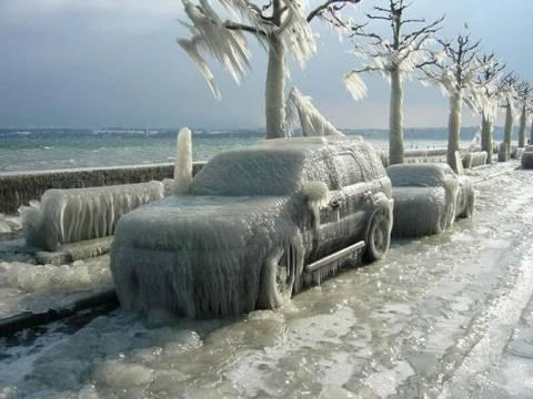 Δραπέτης στις ΗΠΑ δεν άντεξε το κρύο και παραδόθηκε!