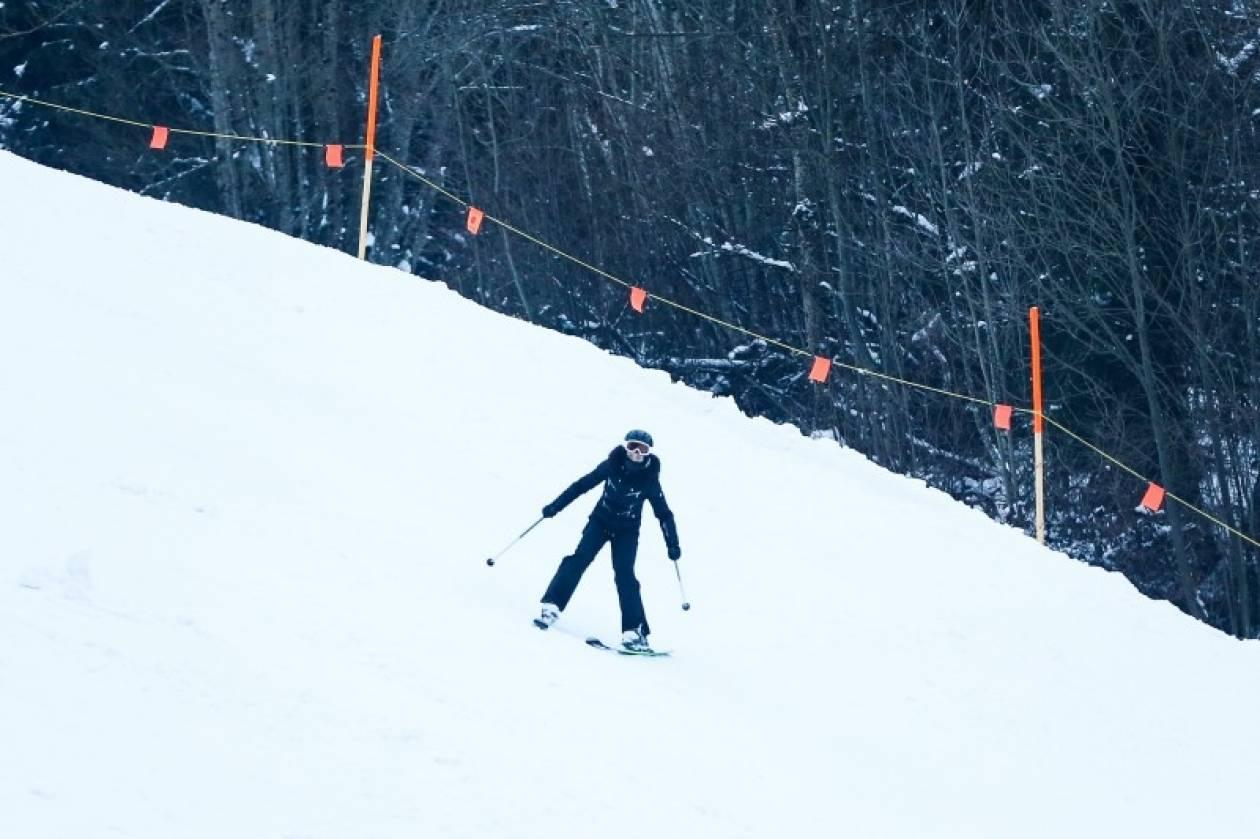 Άλλη μια «βουτιά» της Μαντόνα στο χιόνι