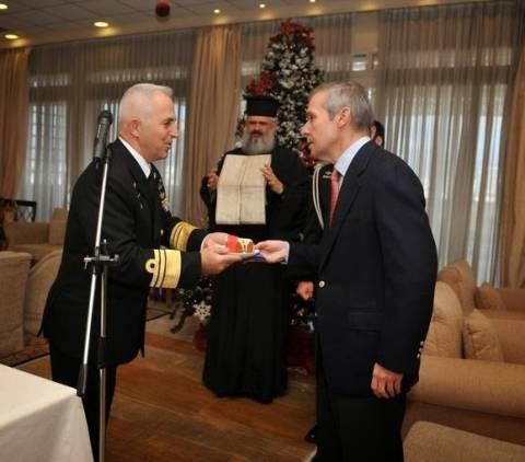 Κοπή της πρωτοχρονιάτικης πίτας του Πολεμικού Ναυτικού
