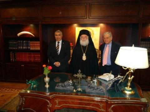 Ο Κυβερνήτης της Αλεξάνδρειας επισκέφτηκε τον Πατριάρχη Θεόδωρο Β'