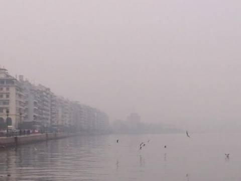 Θεσσαλονίκη: Αυξημένες και σήμερα οι τιμές αιωρούμενων σωματιδίων