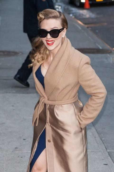 Η σεξι εμφάνιση της Scarlett Johansson