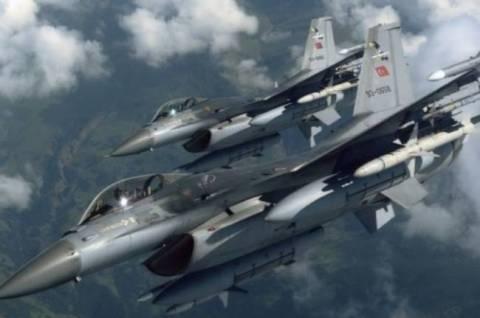 Απανωτές παραβιάσεις των Τούρκων με οπλισμένα αεροσκάφη στο Αιγαίο