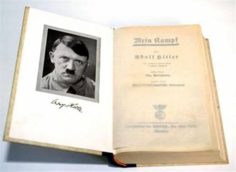Μπέστ σέλερ το βιβλίο του Χίτλερ στο διαδίκτυο
