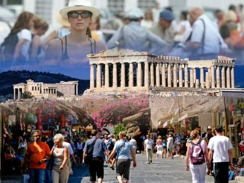 Αυξήθηκαν οι τουρίστες που ήρθαν στην Ελλάδα το 2013