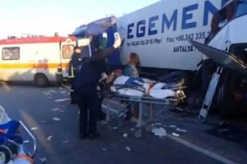 Μάλγαρα: Ελεύθερος ο οδηγός της νταλίκας του τροχαίου
