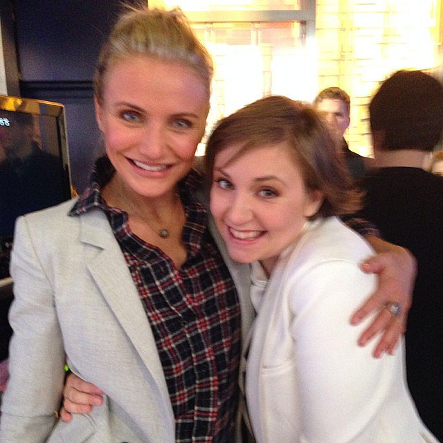 Cameron-Diaz-Lena-Dunham-shared-hug-during-visits-Good-Morning-America