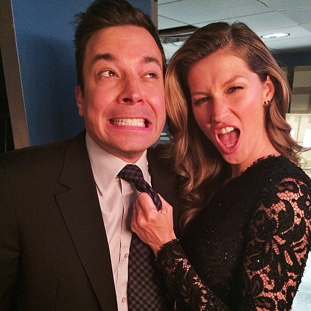Gisele-Bündchen-grabbed-onto-Jimmy-Fallon-during-appearance-his-late-night-show