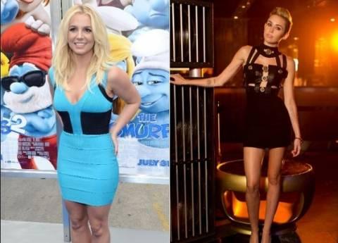 Μπλόκο από το γαλλικό ΕΣΡ σε Britney και Miley!
