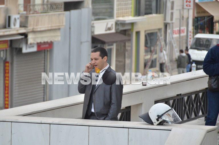 Ένταση έξω από το Εφετείο μεταξύ Κασιδιάρη και δημοσιογράφων(pics&vid)