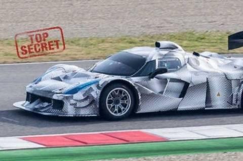 Ferrari: Μυστικές δοκιμές του 1.600 Turbo της F1 στη LaFerrari