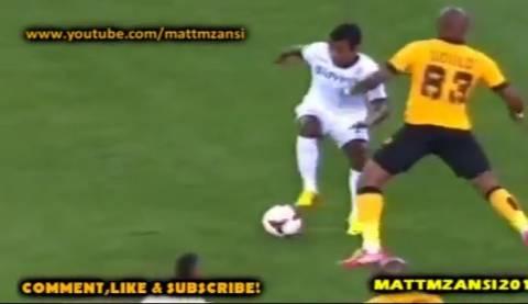 Τον σταμάτησε με μπουνιά και δεν πήρε ούτε κίτρινη κάρτα! (video)