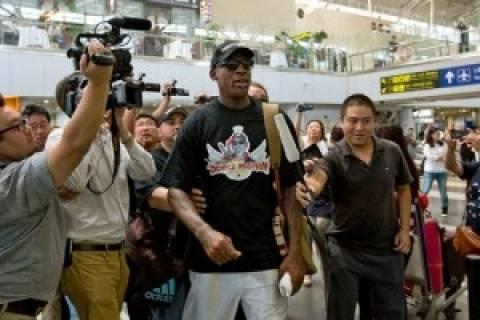 Τη λύπη του εξέφρασε ο Ρόντμαν για το ταξίδι του στη Βόρεια Κορέα