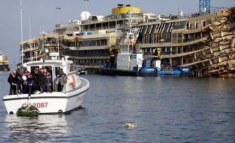 Ιταλία: Εκδηλώσεις μνήμης για το ναυάγιο του Concordia