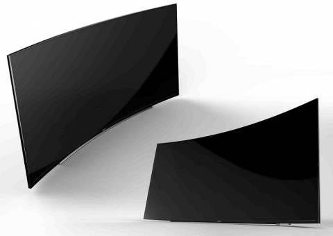 Οι πρώτες κυρτές UHD τηλεοράσεις από τη Samsung