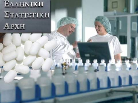 ΕΛΣΤΑΤ: Καθοριστική η συμβολή της φαρμακοβιομηχανίας στην οικονομία