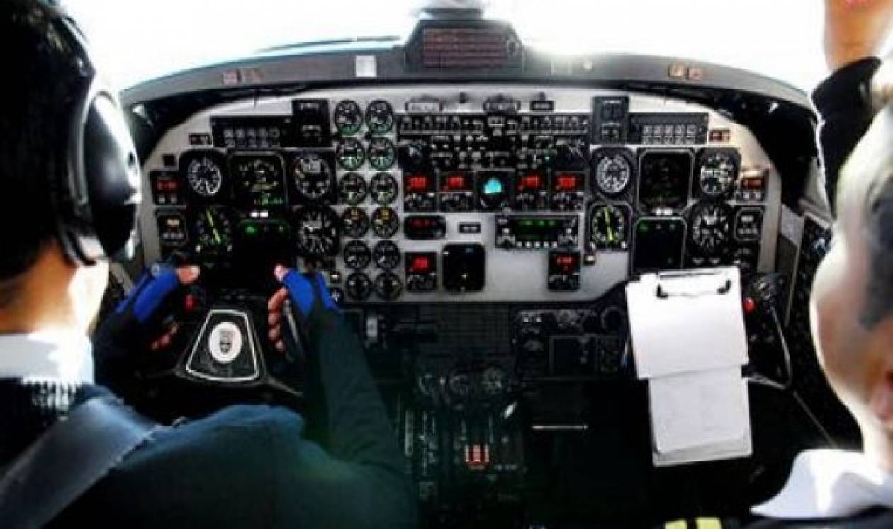 Ώρες αγωνίας στον αέρα:Πιλότος υπέστη καρδιακό την ώρα της πτήσης