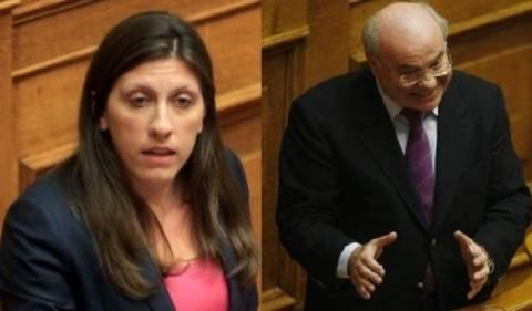 Ο Νεράντζης έκλεισε το μικρόφωνο της Κωνσταντοπούλου στη Βουλή