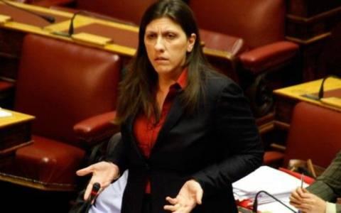 Κωνσταντοπούλου:Με εντολή Σαμαρά δεν ελέγχεται η λίστα Λαγκάρντ!
