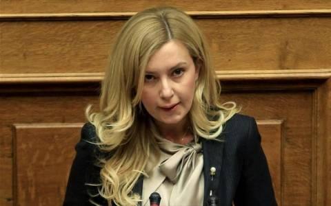 Στη Βουλή αίτημα για άρση της ασυλίας της Φωτεινής Αραμπατζή