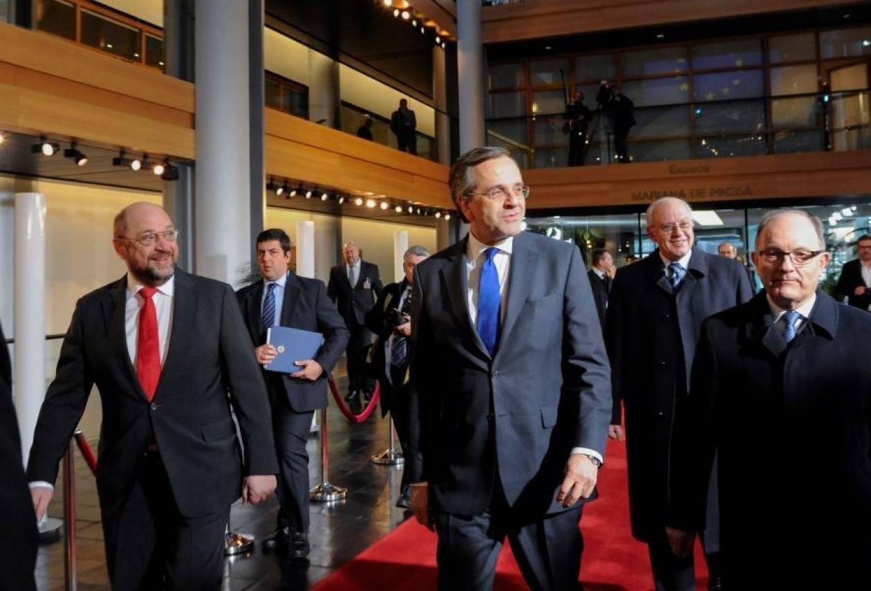 Οι συναντήσεις του Πρωθυπουργού στο Στρασβούργο
