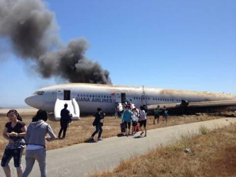 Γλύτωσε από αεροπορικό ατύχημα και την σκότωσε σωστικό όχημα (βίντεο)