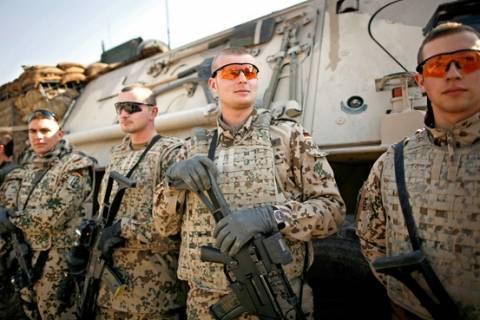 Για τα γερμανικά στρατεύματα στο Αφγανιστάν συζήτησαν Μέρκελ - Καρζαί