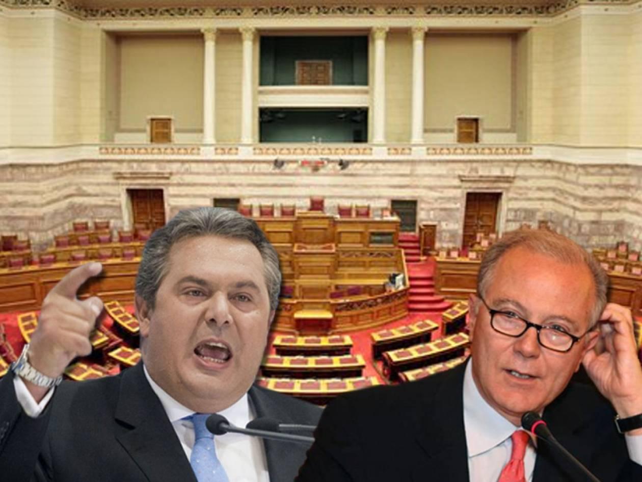 Λάβρος ο Καμμένος εναντίον του Προβόπουλου στη Βουλή