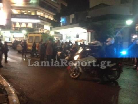 Λαμία: Άγριος ξυλοδαρμός στο κέντρο της πόλης