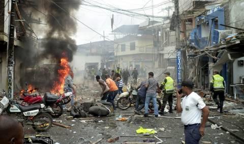 Κολομβία: Ένας νεκρός και 52 τραυματίες από έκρηξη μοτοσυκλέτας