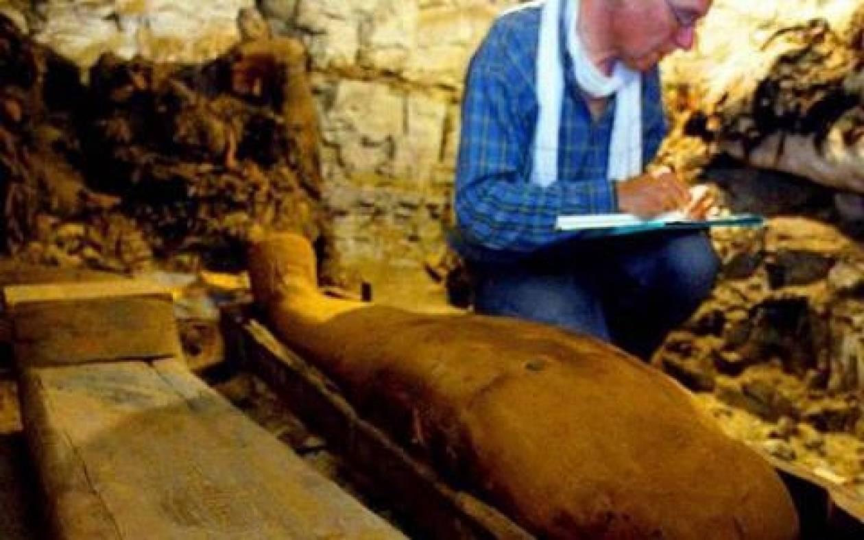 Ανακαλύφθηκε ο τάφος του άγνωστου Φαραώ
