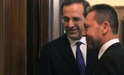 Για προϋπολογισμό και τρόικα συζήτησαν Σαμαράς-Στουρνάρας