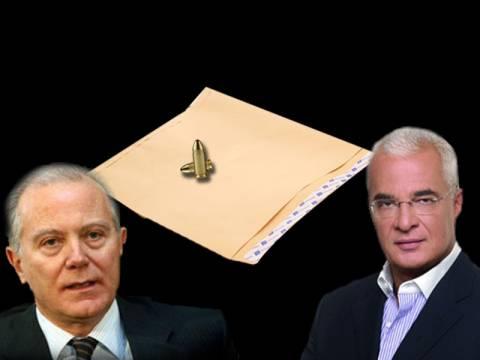 Φάκελος με σφαίρες και απειλητικά σημειώματα σε Προβόπουλο-Πρετεντέρη