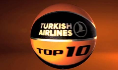 Ευρωλίγκα: To Top 10 της 3η αγωνιστικής (video)