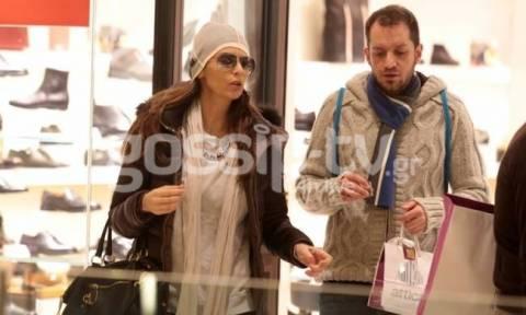 Ματθίλδη Μαγγίρα: Για ψώνια σε εμπορικό κέντρο