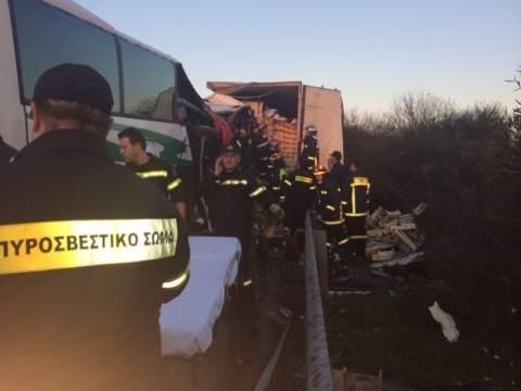 Εκτός κινδύνου ο οδηγός του ΚΤΕΛ στο δυστύχημα των Μαλγάρων