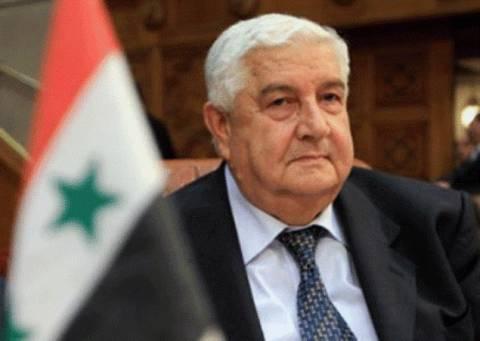 Σύρος Υπ.Εξ.: «Κόκκινη γραμμή» η απομάκρυνση Άσαντ