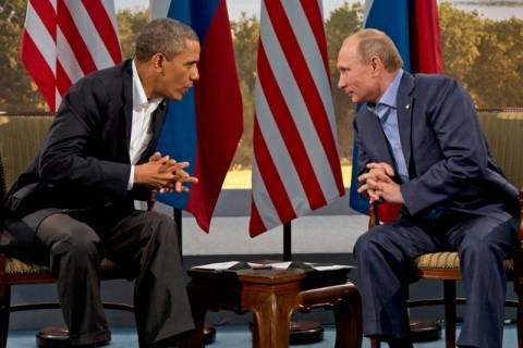 Ομπάμα - Πούτιν συνομίλησαν για θέματα ασφαλείας στο Σότσι