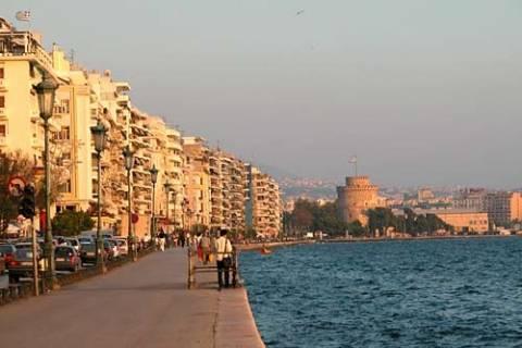 Θεσσαλονίκη: Ο νοτιάς «καθάρισε» την ατμόσφαιρα!