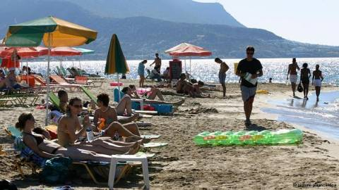 Αύξηση κατά 15,2% του τουρισμού στην Ελλάδα το 9μηνο 2013