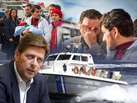 Στους πρόσφυγες ρίχνει το φταίξιμο για τον πνιγμό τους ο Βαρβιτσιώτης